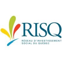 Logo du RISQ (Réseau d'investissement social du Québec)