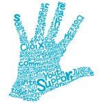 Logo de l'organisme à deux mains / Hands in hands