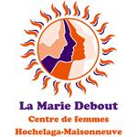 Logo de l'organisme La Marie Debout, Centre de femmes, Hochelaga-Maisonneuve
